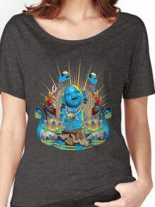 Happy Kustom Kulture Buddha Women's Relaxed Fit T-Shirt