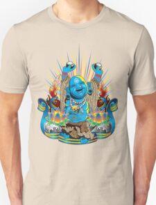 Happy Kustom Kulture Buddha T-Shirt