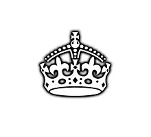 British Crown UK, Her Majesty the Queen; white by TOM HILL - Designer