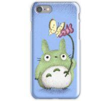 Totoro With a Flower Fan Art iPhone Case/Skin