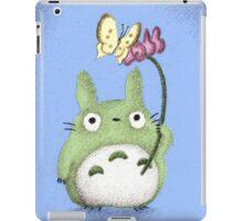 Totoro With a Flower Fan Art iPad Case/Skin