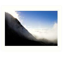 Dieffenbach Cliffs,Mount Taranaki, New Zealand Art Print