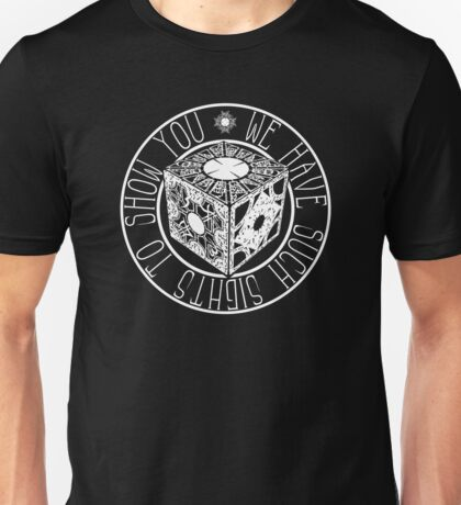 Hellraiser - We Have Such Sights to Show You - Clive Barker Unisex T-Shirt