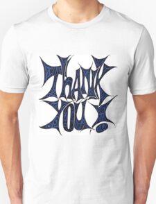 Artsy Thank You Unisex T-Shirt