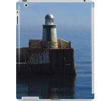 Laxey Harbour, Isle of Man iPad Case/Skin