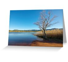 Earth, water and sky Greeting Card