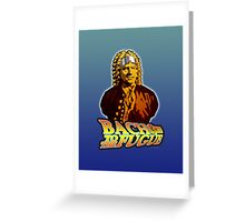 Bach to the Fugue Greeting Card