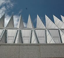 air force academy chapel by kmcphersonphoto
