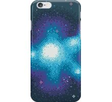 8Bit Galaxies:  Cornflower Nebula iPhone Case/Skin