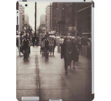 Rush hour, NYC iPad Case/Skin