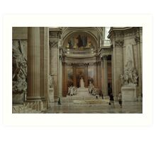 pantheon interior Art Print