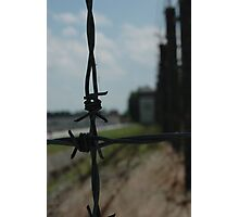 dachau gate Photographic Print