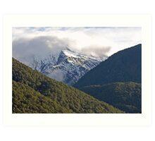 Haast Pass , Central Otago , New Zealand Art Print