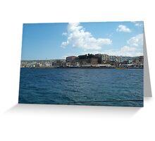 Port of Chania, Crete Greeting Card