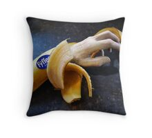 The beast with fyffe fingers Throw Pillow