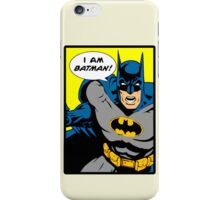 Batman - I Am Batman Comic Design iPhone Case/Skin