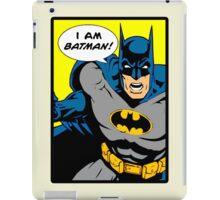 Batman - I Am Batman Comic Design iPad Case/Skin