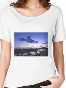 Sunset on guernsey  Women's Relaxed Fit T-Shirt