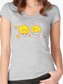 Night & Day Women's Fitted Scoop T-Shirt