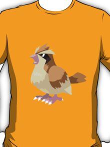Pidgey Pokemon Simple No Borders T-Shirt