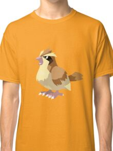 Pidgey Pokemon Simple No Borders Classic T-Shirt