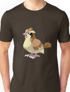 Pidgey Pokemon Simple No Borders Unisex T-Shirt