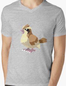 Pidgey Pokemon Simple No Borders Mens V-Neck T-Shirt