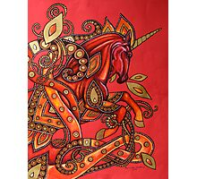 Fire Horse Photographic Print