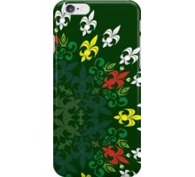 roue de lys (version coleur) iPhone Case/Skin