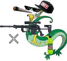 MLG Pokemon Seperior Art by SXArtist