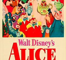 Alice In Wonderland Poster by OnlyYouArt