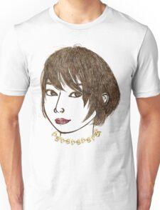 Short hair woman  Unisex T-Shirt