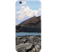 View of Bartolome Island, Galapagos Islands iPhone Case/Skin