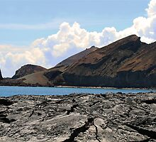 View of Bartolome Island, Galapagos Islands by Catherine Sherman