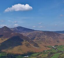 Causey Pike from Catbells by MrEych