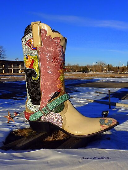 Those Boots are Made for Walking by Charmiene Maxwell-Batten