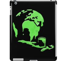 Let's Paint the World Green! iPad Case/Skin