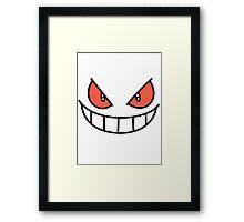Gengar Face POKéMON Framed Print