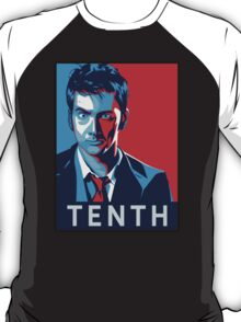 Doctor Who - Vote For Tenth Doctor T-Shirt