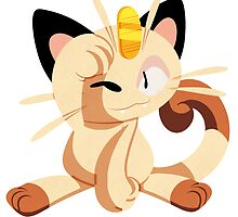 meowth. by scribblekisses