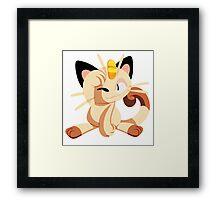 meowth. Framed Print