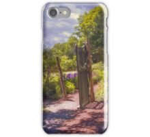 Garden Gate iPhone Case/Skin