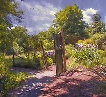 Garden Gate by John Rivera