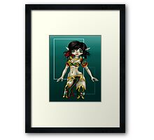 The Elf Framed Print