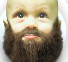 Beard boy Sticker