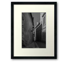 Prague Mystery Framed Print