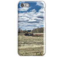 A Time to Plow iPhone Case/Skin