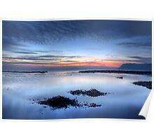 Dawn At Robin Hoods Bay Poster