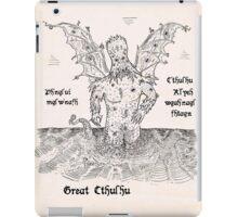 Great Cthulhu iPad Case/Skin