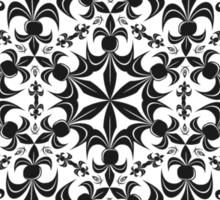 roue de lys (version noir) Sticker